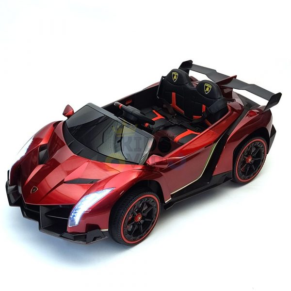 2 seats lamborghini ride on kids and toddlers ride on car 12v red 20