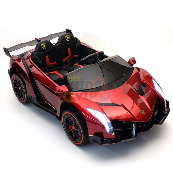 2 seats lamborghini ride on kids and toddlers ride on car 12v red 71