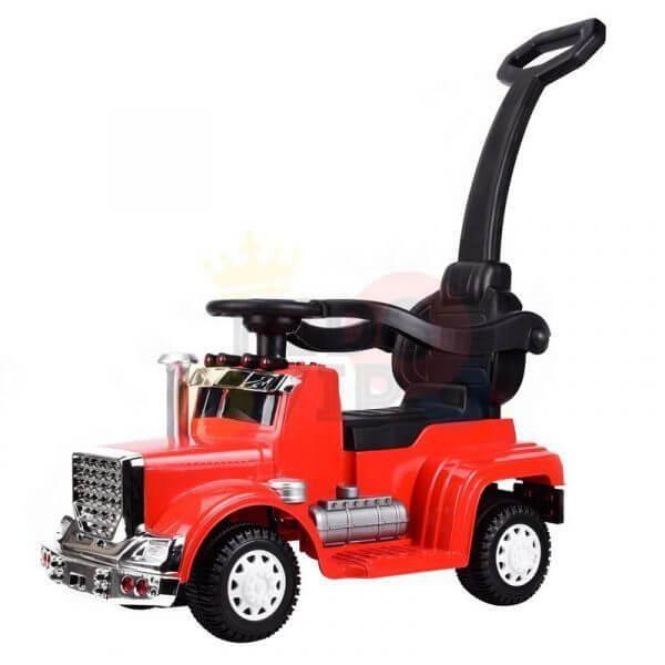 kids vip ride on push truck handle red 13
