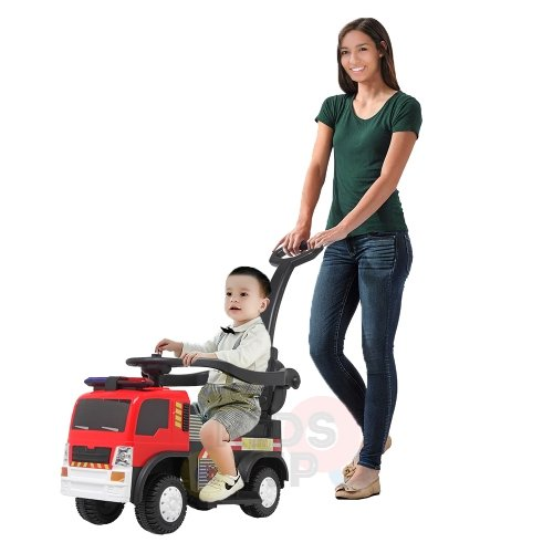 kids vip toddlers ride on car pushcar firetruck 6v ride on car 19