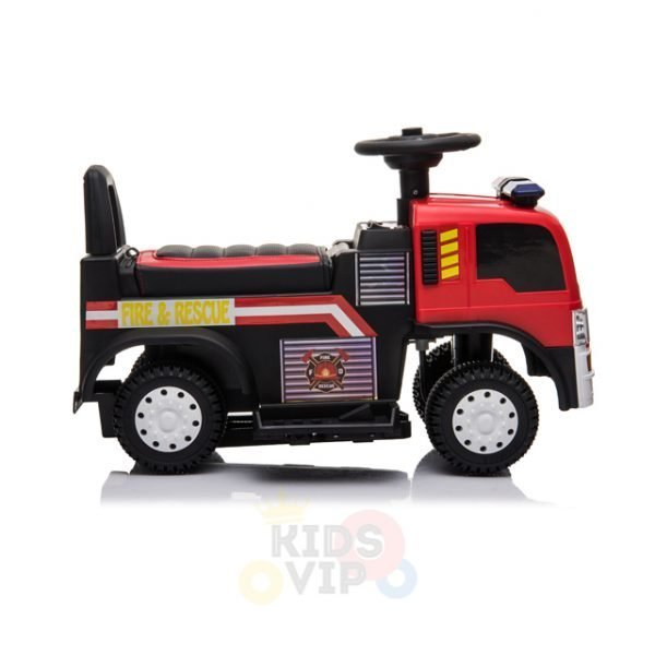 kids vip toddlers ride on car pushcar firetruck 6v ride on car 22