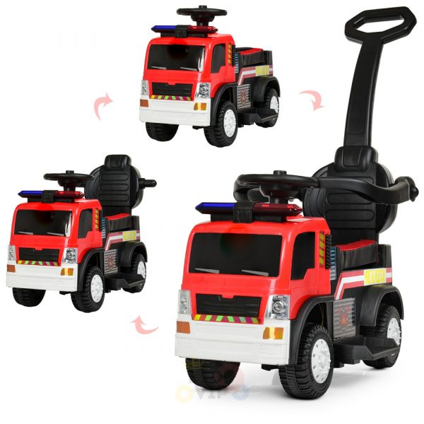 kids vip toddlers ride on car pushcar firetruck 6v ride on car 7