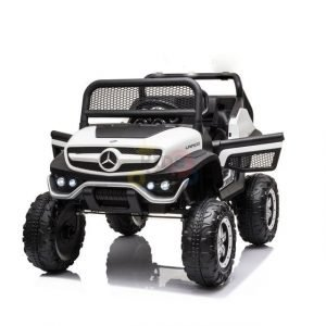 kidsvip mini mercedes unimog 12v ride on kids car jeep rc 1 1