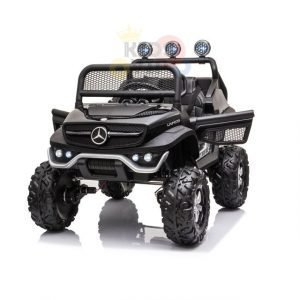 kidsvip mini mercedes unimog 12v ride on kids car jeep rc 2