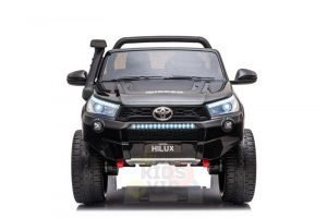 kidsvip toyota hilux 24v ride on 2 seater truck rubber wheels BLACK 4