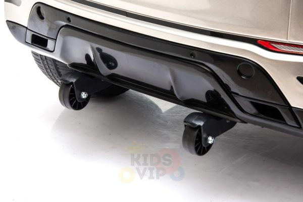 kidsvip toyota hilux 24v ride on 2 seater truck rubber wheels WHITE 1