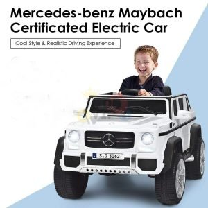 kidsvip mercedes maybach 650s toddlers kids ride on car 12v rc 8