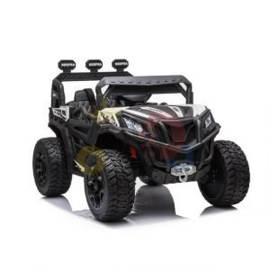 kidsvip sport utility ride on kids toddlers buggy utv 4wheeldrive rc leather seat 2