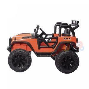 idsvip big eva wheels 24v kids ride on truck orange 1
