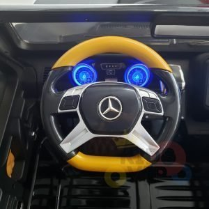 kidsvip mercedes maybach ride on truck car 2seater 2 seater black mp4 24V KIDS TODDLERS MATTE 12