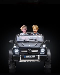 kidsvip mercedes maybach ride on truck car 2seater 2 seater black mp4 24V KIDS TODDLERS MATTE 14