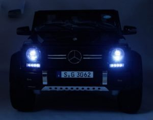 kidsvip mercedes maybach ride on truck car 2seater 2 seater black mp4 24V KIDS TODDLERS MATTE 2