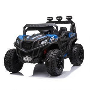 kidsvip sport utility ride on kids toddlers buggy utv 4wheeldrive rc leather seat 11