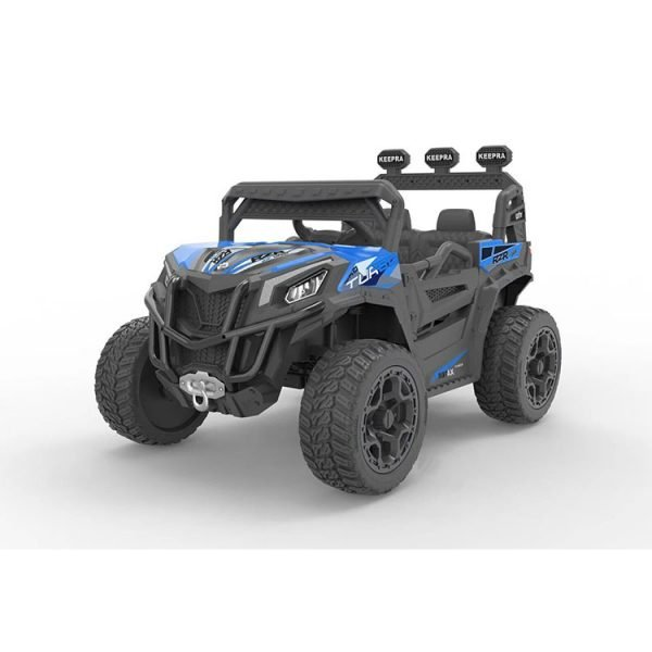 kidsvip sport utility ride on kids toddlers buggy utv 4wheeldrive rc leather seat 18