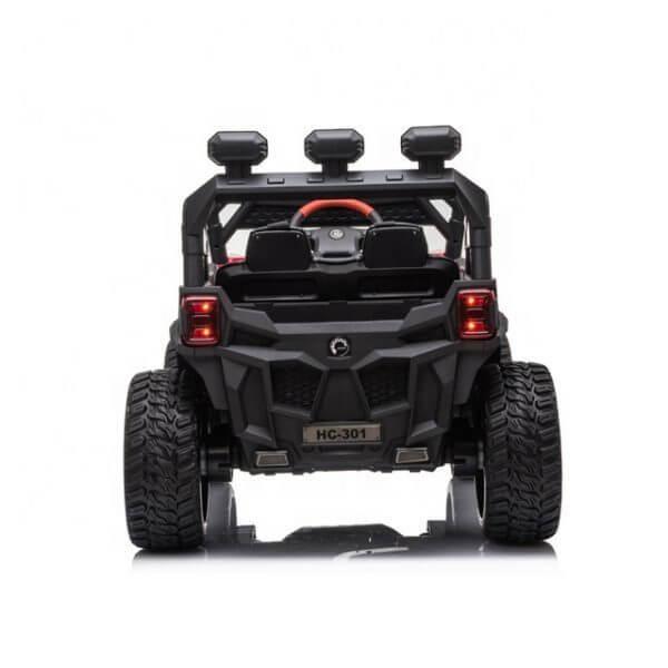 kidsvip sport utility ride on kids toddlers buggy utv 4wheeldrive rc leather seat 29