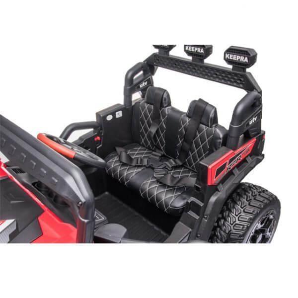 kidsvip sport utility ride on kids toddlers buggy utv 4wheeldrive rc leather seat 34