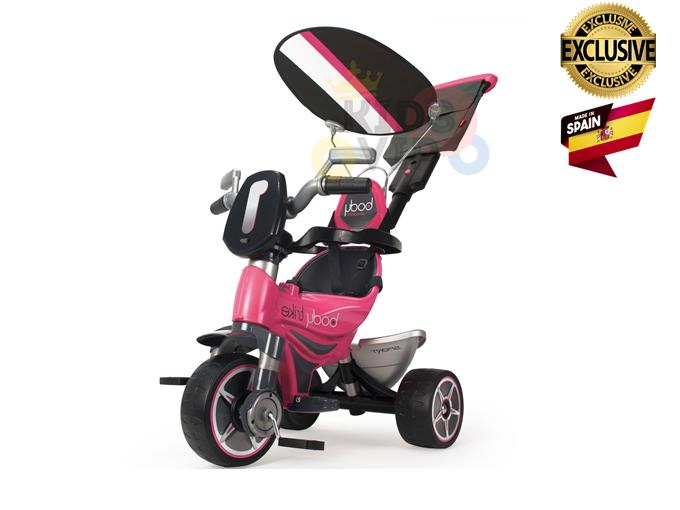 INJUSA Body Sport Edition 3 wheel Tricycle, Removable Backrest & Handle