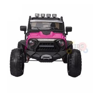 idsvip big eva wheels 24v kids ride on truck rose 1