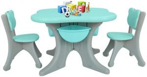 kidsvip bear edition table and chairs 1