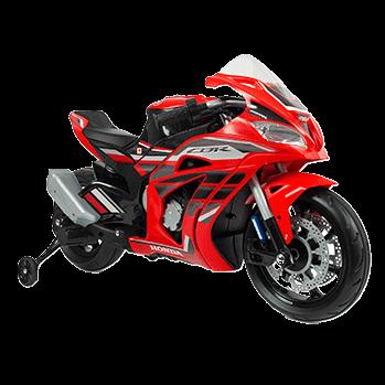 kidsvip honda ride on 12v motorcycle cbr kids 2 1 1