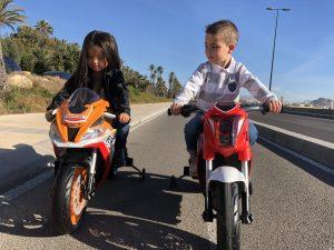 kidsvip injusa 12v motocycle for kids red 16