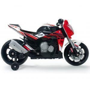 kidsvip injusa 12v motocycle for kids red 9