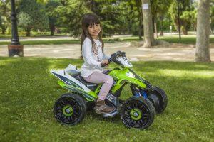 kidsvip injusa kawasaki 12v atv quad for kids 5