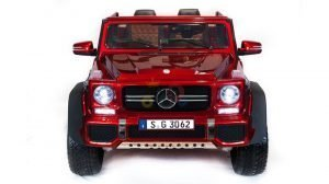 kidsvip mercedes maybach ride on truck car 2seater 2 seater RED mp4 24V KIDS TODDLERS RED 19