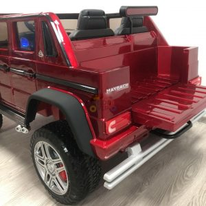 kidsvip mercedes maybach ride on truck car 2seater 2 seater RED mp4 24V KIDS TODDLERS RED 23