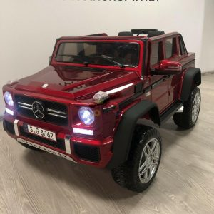 kidsvip mercedes maybach ride on truck car 2seater 2 seater RED mp4 24V KIDS TODDLERS RED 26