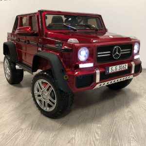 kidsvip mercedes maybach ride on truck car 2seater 2 seater RED mp4 24V KIDS TODDLERS RED 27