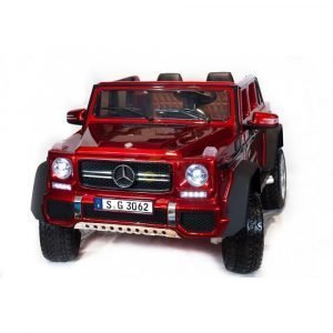 kidsvip mercedes maybach ride on truck car 2seater 2 seater RED mp4 24V KIDS TODDLERS RED 29