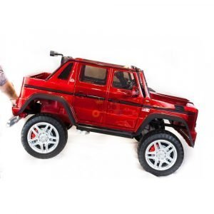 kidsvip mercedes maybach ride on truck car 2seater 2 seater RED mp4 24V KIDS TODDLERS RED 30