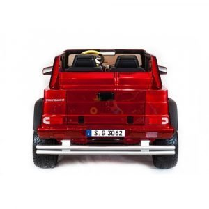 kidsvip mercedes maybach ride on truck car 2seater 2 seater RED mp4 24V KIDS TODDLERS RED 33