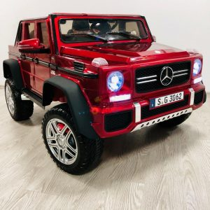 kidsvip mercedes maybach ride on truck car 2seater 2 seater RED mp4 24V KIDS TODDLERS RED 34