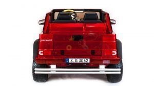 kidsvip mercedes maybach ride on truck car 2seater 2 seater RED mp4 24V KIDS TODDLERS RED 7