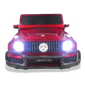 Mercedes g series 24v ride on kids car led logo edition RED 8