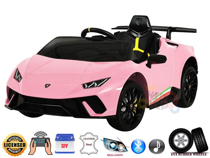 Officially Licensed 12V Lamborghini Huracan Complete Sport Edition
