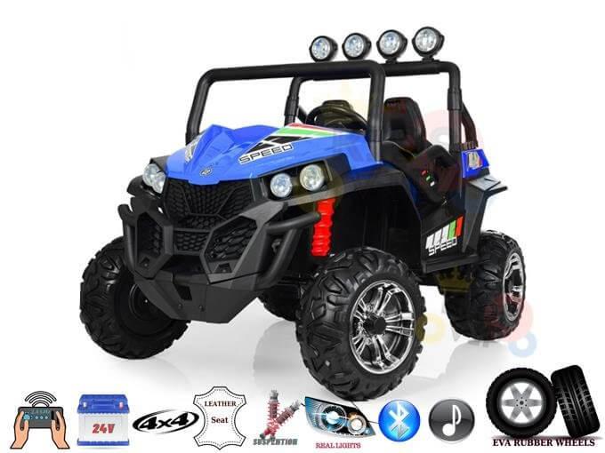 Limited 2 Seater Viper Kids 24v 4WD Ride On UTV/Buggy