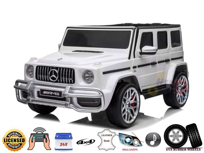 Complete Special Edition 2 Seats 4WD Mercedes G Series 24v Kids Ride On w/RC