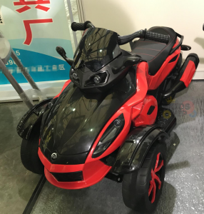 kidsvip 2 wheel atv bike rubberr wheels leather kids ride on red 10