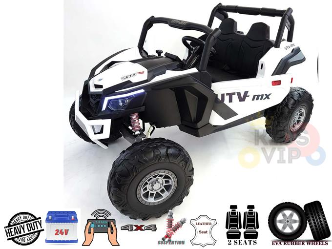 2 Seater Complete XXL Edition 4X4 Challenger 24V Ride On Buggy UTV, RC