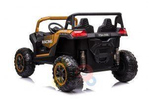 kidsvip 24v 4wd 4x4 ride on buggy utv gig toy remote rc gold 2