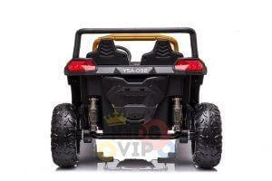 kidsvip 24v 4wd 4x4 ride on buggy utv gig toy remote rc gold 3