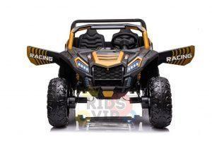 kidsvip 24v 4wd 4x4 ride on buggy utv gig toy remote rc gold 4
