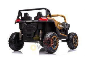 kidsvip 24v 4wd 4x4 ride on buggy utv gig toy remote rc gold 6