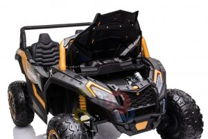 kidsvip 24v 4wd 4x4 ride on buggy utv gig toy remote rc gold 7