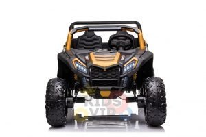 kidsvip 24v 4wd 4x4 ride on buggy utv gig toy remote rc gold 9