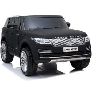 24v kidsvip range rover 2 seats ride on car mp4 matte black 2