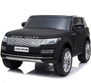 24v kidsvip range rover 2 seats ride on car mp4 matte black 3